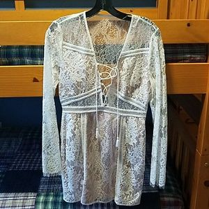 Nwot the Jetset Diaries lace dress